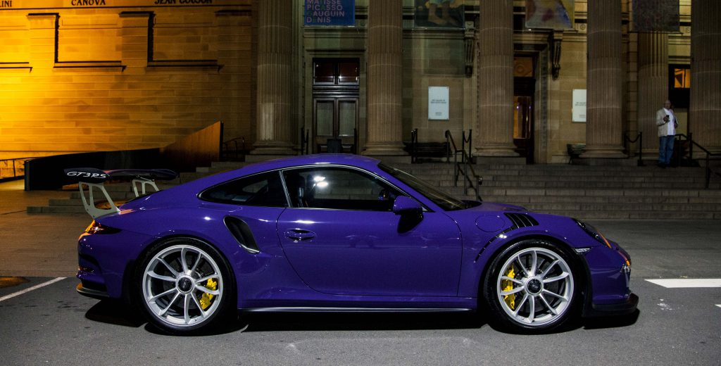 Porsche 911 GT3 RS side profile